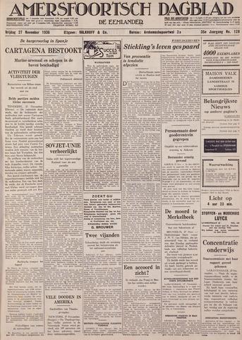 Amersfoortsch Dagblad / De Eemlander 1936-11-27
