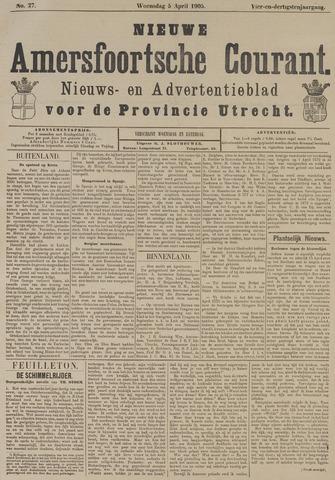 Nieuwe Amersfoortsche Courant 1905-04-05