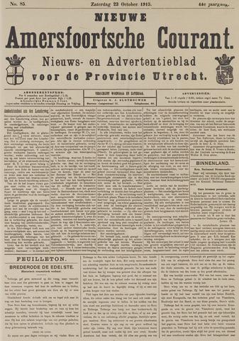 Nieuwe Amersfoortsche Courant 1915-10-23