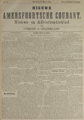 Nieuwe Amersfoortsche Courant 1895-03-27