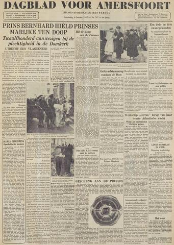 Dagblad voor Amersfoort 1947-10-09