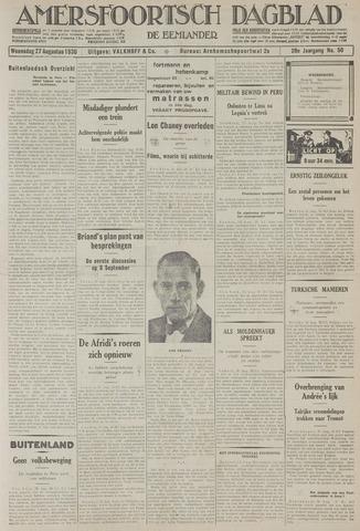 Amersfoortsch Dagblad / De Eemlander 1930-08-27