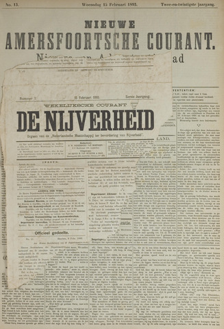 Nieuwe Amersfoortsche Courant 1893-02-15