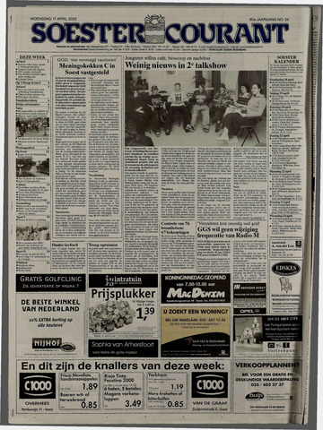Soester Courant 2002-04-17