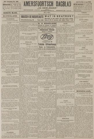 Amersfoortsch Dagblad / De Eemlander 1926-06-03
