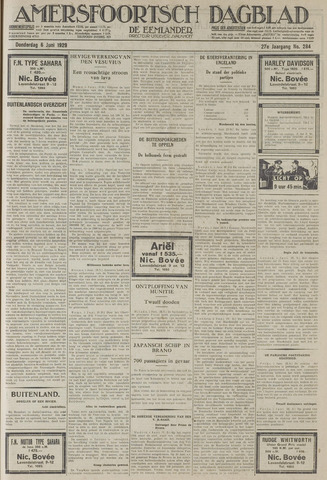 Amersfoortsch Dagblad / De Eemlander 1929-06-06