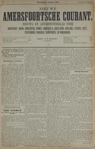 Nieuwe Amersfoortsche Courant 1884-01-02