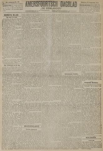 Amersfoortsch Dagblad / De Eemlander 1919-08-16