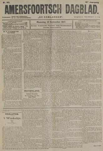 Amersfoortsch Dagblad / De Eemlander 1917-09-10