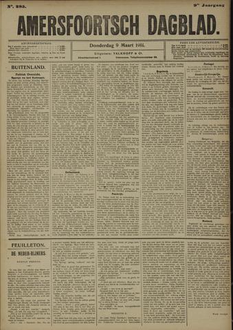 Amersfoortsch Dagblad 1911-03-09