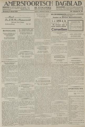 Amersfoortsch Dagblad / De Eemlander 1928-02-02