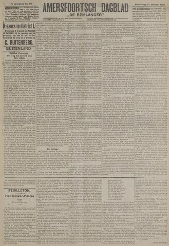 Amersfoortsch Dagblad / De Eemlander 1918-10-17