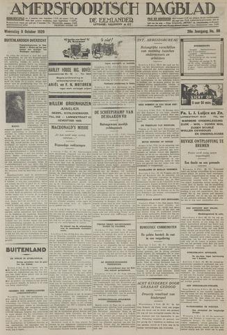 Amersfoortsch Dagblad / De Eemlander 1929-10-09