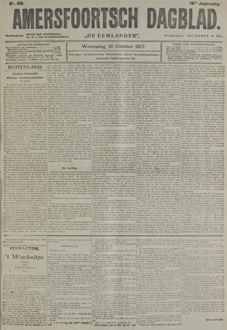 Amersfoortsch Dagblad / De Eemlander 1917-10-10