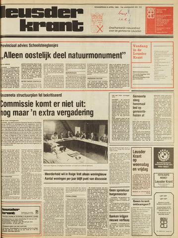 Leusder Krant 1982-04-08