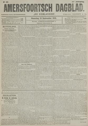 Amersfoortsch Dagblad / De Eemlander 1913-09-15