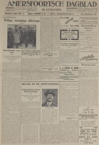 Amersfoortsch Dagblad / De Eemlander 1934-03-07