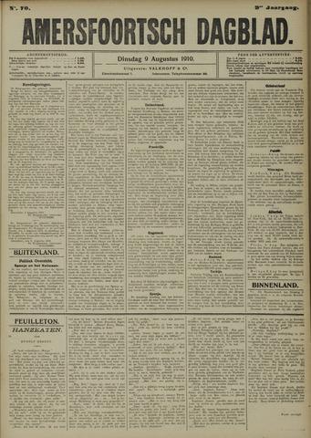Amersfoortsch Dagblad 1910-08-09