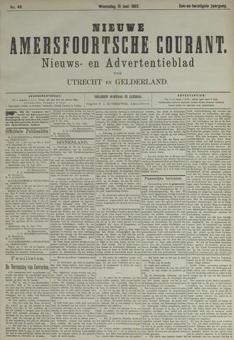 Nieuwe Amersfoortsche Courant 1892-06-15