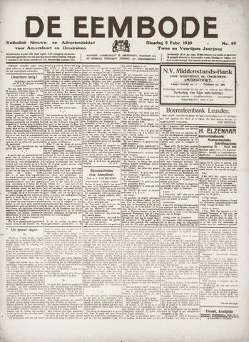 De Eembode 1929-02-05