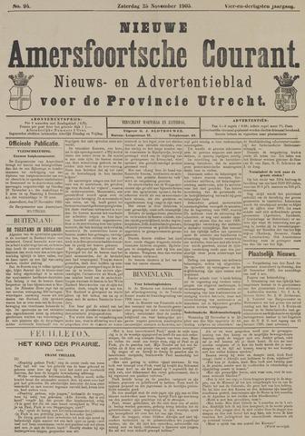 Nieuwe Amersfoortsche Courant 1905-11-25