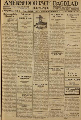 Amersfoortsch Dagblad / De Eemlander 1932-10-28