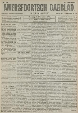 Amersfoortsch Dagblad / De Eemlander 1913-11-25