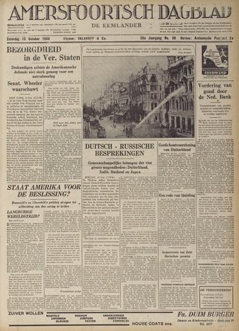 Amersfoortsch Dagblad / De Eemlander 1940-10-12