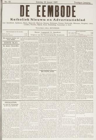 De Eembode 1907-01-26