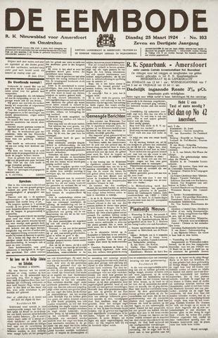 De Eembode 1924-03-25