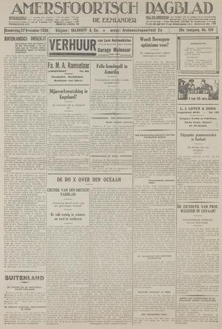 Amersfoortsch Dagblad / De Eemlander 1930-11-27