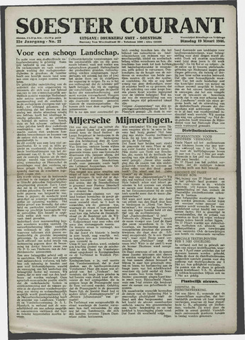 Soester Courant 1946-03-19