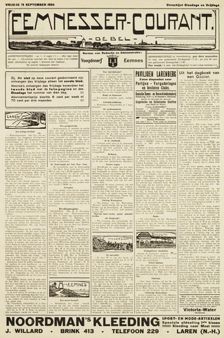 Eemnesser Courant 1924-09-19