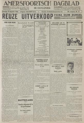Amersfoortsch Dagblad / De Eemlander 1930-08-23