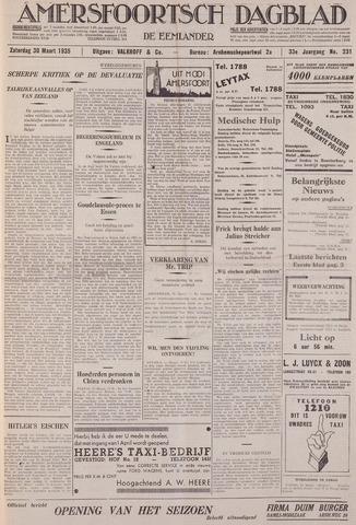Amersfoortsch Dagblad / De Eemlander 1935-03-30