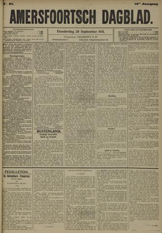Amersfoortsch Dagblad 1911-09-28