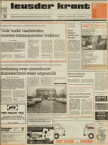 Leusder Krant 1987-08-27