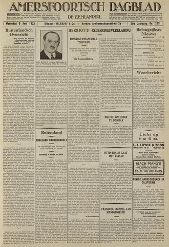 Amersfoortsch Dagblad / De Eemlander 1932-06-08