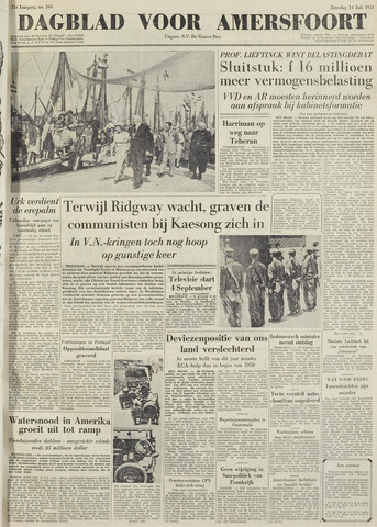 Dagblad voor Amersfoort 1951-07-14