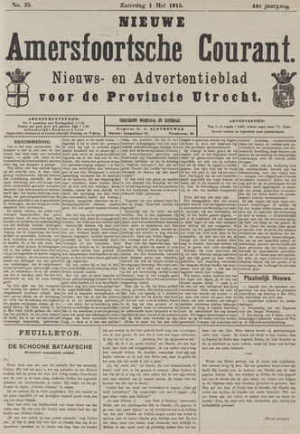 Nieuwe Amersfoortsche Courant 1915-05-01