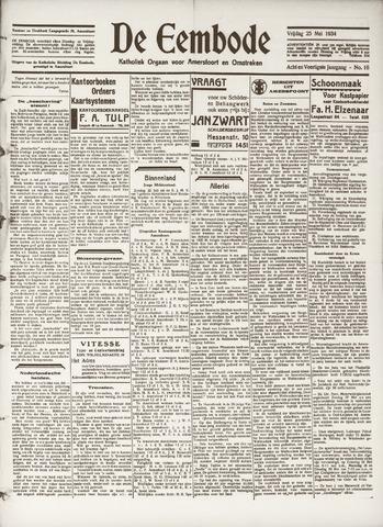 De Eembode 1934-05-25