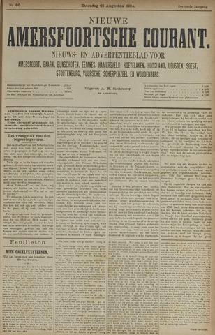 Nieuwe Amersfoortsche Courant 1884-08-23