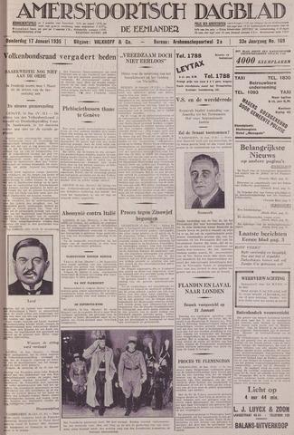 Amersfoortsch Dagblad / De Eemlander 1935-01-17
