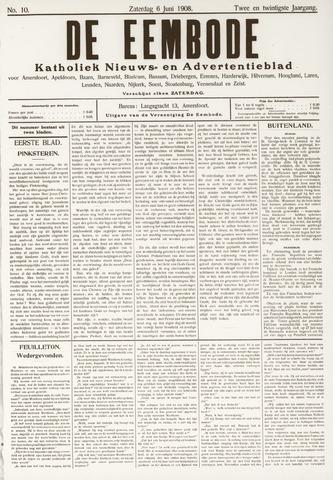 De Eembode 1908-06-06