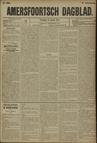 Amersfoortsch Dagblad 1911-04-14