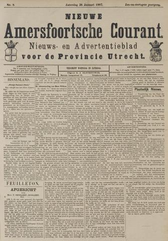 Nieuwe Amersfoortsche Courant 1907-01-26