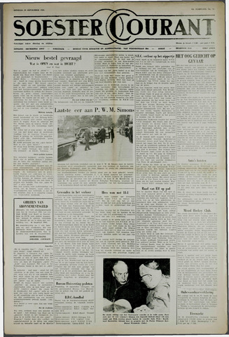 Soester Courant 1964-09-29