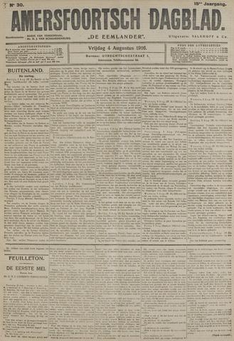 Amersfoortsch Dagblad / De Eemlander 1916-08-04