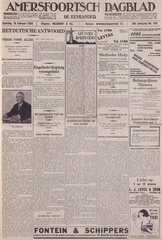 Amersfoortsch Dagblad / De Eemlander 1935-02-16