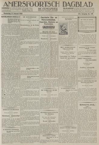 Amersfoortsch Dagblad / De Eemlander 1929-02-21